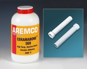 New Ceramabond™ 569 Bonds & Coats Platinum Resistance Heaters