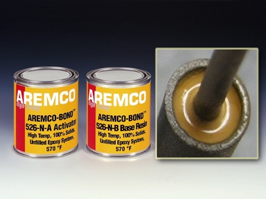 Aremco-Bond™ 526-N Seals Tubular Heaters to 570 ºF