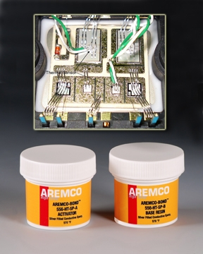 Aremco-Bond™ 556-HTSP Electrically Conductive Adhesive Now Available