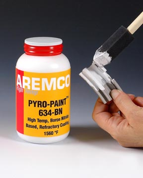 Pyro-Paint™ 634-BN Hi-Temp Boron Nitride Coating Now Available