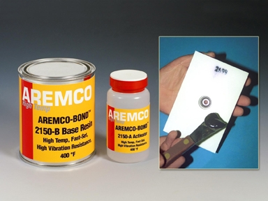 Aremco-Bond™ 2150 High Strength Epoxy Bonds Ceramic Wear Tiles