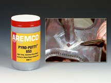New Pyro-Putty® 653 Repairs Corrosion Defects to 2000°F