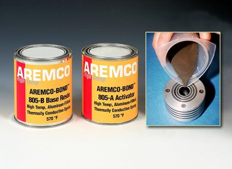 Aremco-Bond 805 High Temp Thermally Conductive Epoxy Now Available