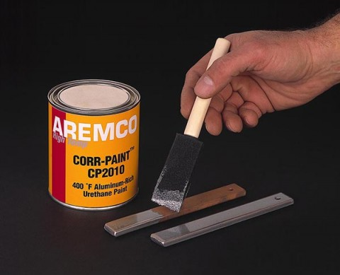 aremco new corr paint cp2010 provides high temp