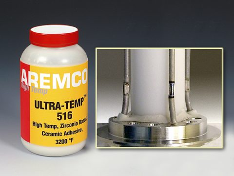 Ultra-Temp 516 Bonds Zirconia Ceramics