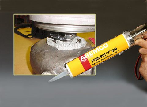Pyro-Putty 950 Seals High Temperature Casings & Manifolds