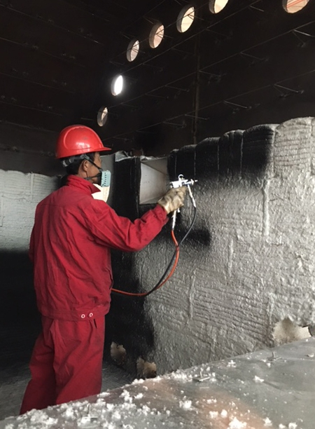 High Temperature Black Coating for Furnaces, Heaters & Incinerators
